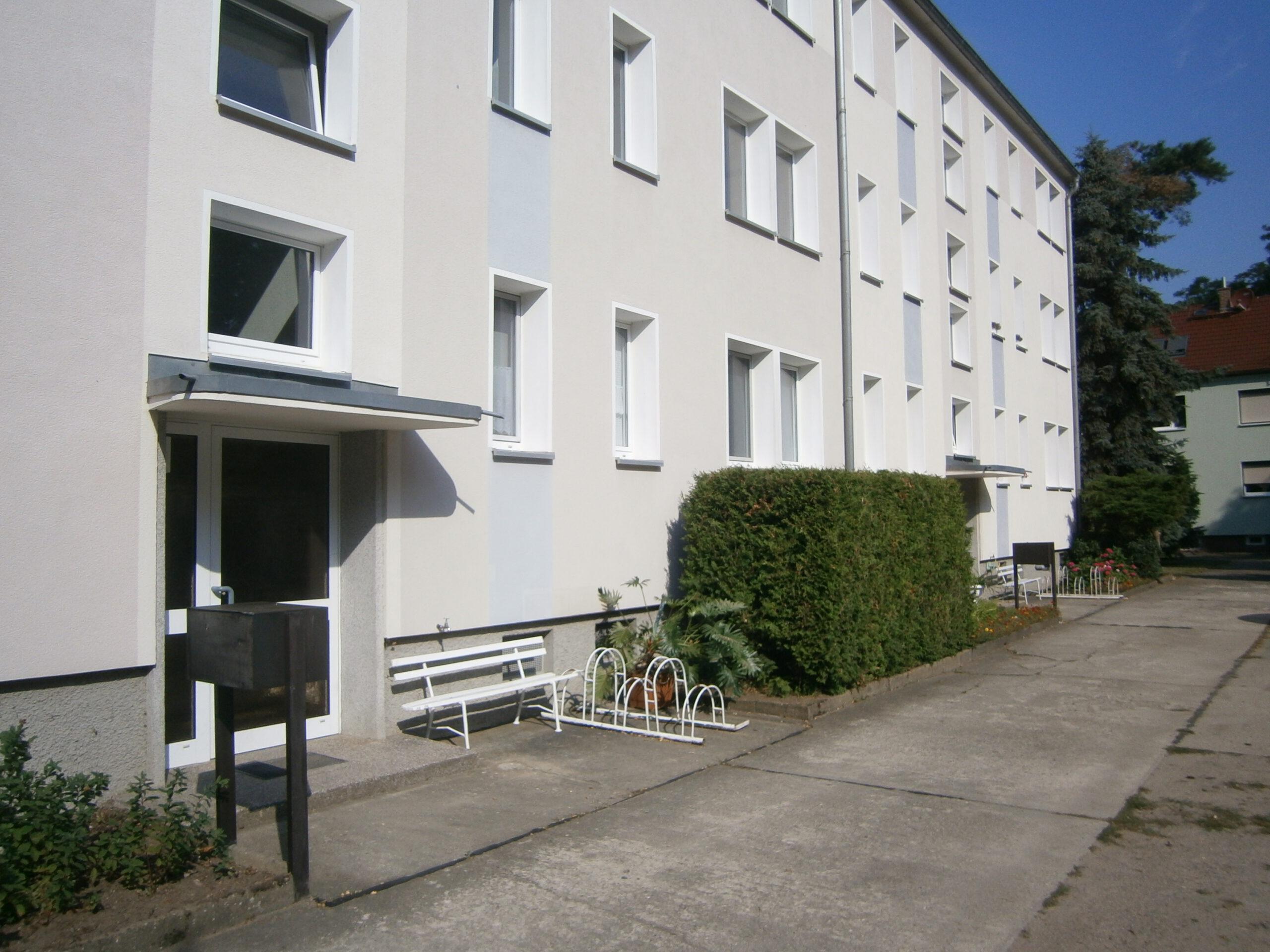 Single-Wohnung im Grünen