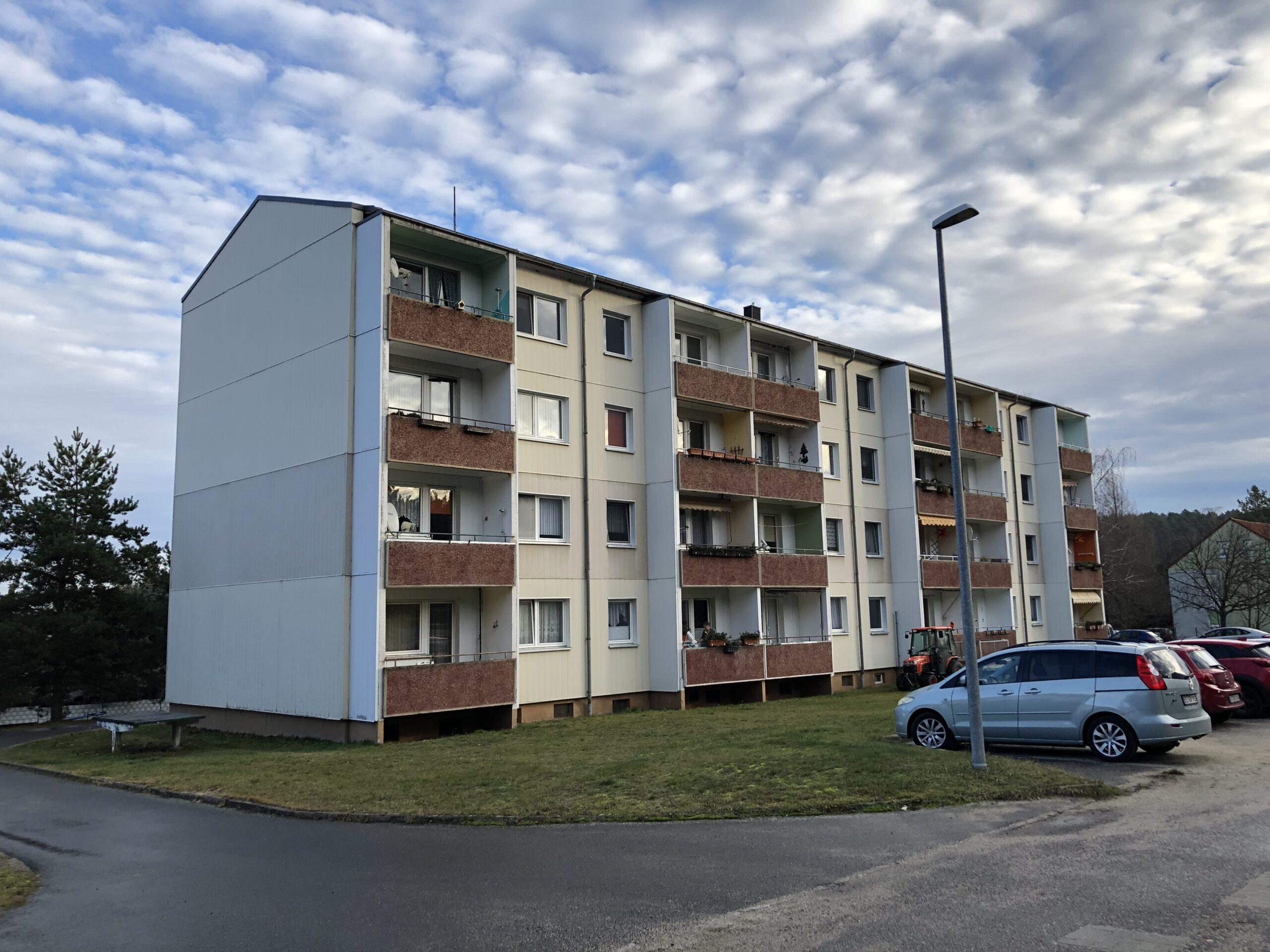Gemütliche 4-Raum-Wohnung im Grünen
