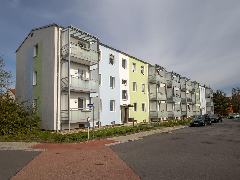 Moderne 3-Raum-Wohnung mit Balkon